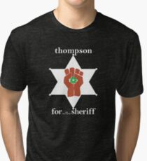 Hunter S Thompson, Gonzo Fist  Tri-blend T-Shirt