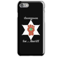 Hunter S Thompson, Gonzo Fist  iPhone Case/Skin