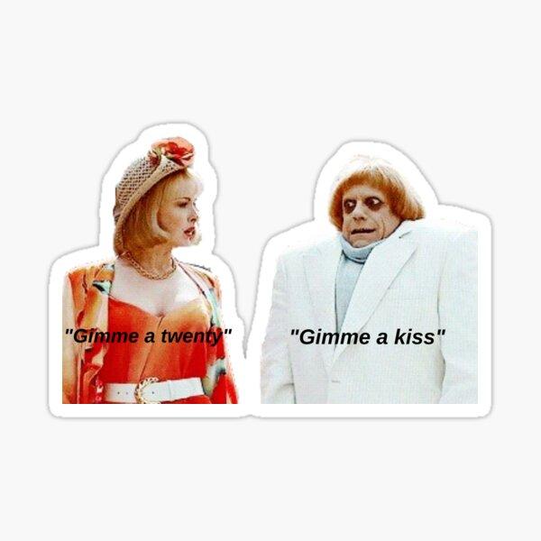 Debbie Jellinsky Addams Family Sticker