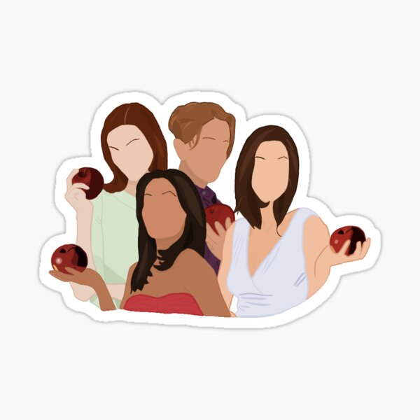 Desperate Housewives Intro Sticker Sticker
