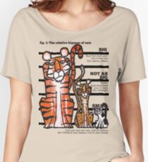 Bigness of cats top Women's Relaxed Fit T-Shirt