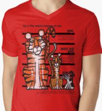 Bigness of cats top Mens V-Neck T-Shirt