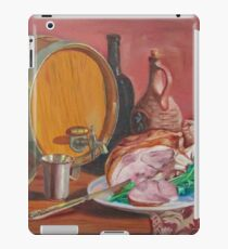 Still life with ham iPad Case/Skin