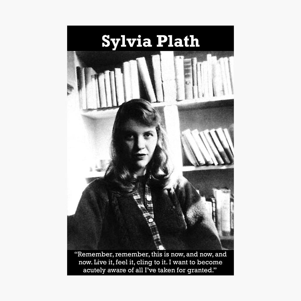 Sylvia Plath Lámina fotográfica