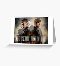 SuperWho Greeting Card
