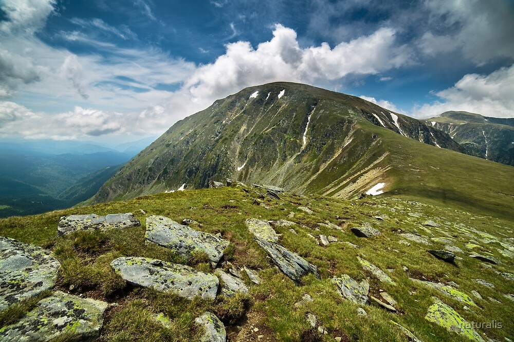 Parang mountains in Romania by naturalis