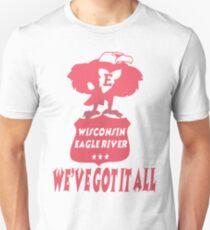 Wisconsin Eagle River Unisex T-Shirt