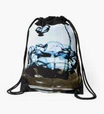 oil and water Drawstring Bag