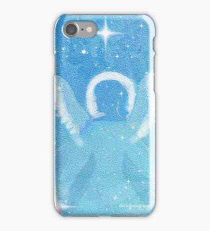 Baby Blue Angel,  iPhone Case/Skin