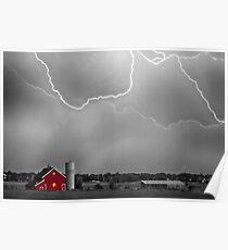 Farm Storm HDR BWSC Poster