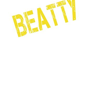 it is BEATTY thing you wouldn't understand by Bestselling
