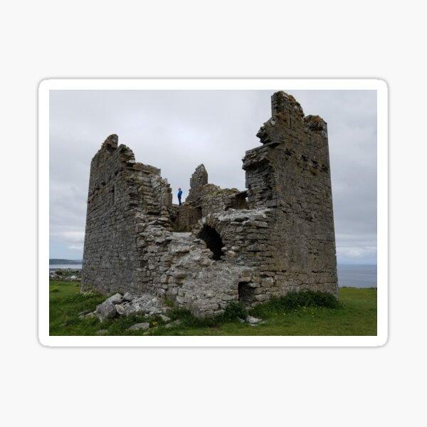 Caislean Ui Bhriain on Inisheer in Ireland Sticker