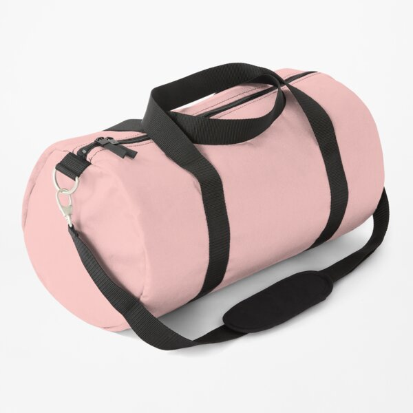 Solid Pink Duffle Bag