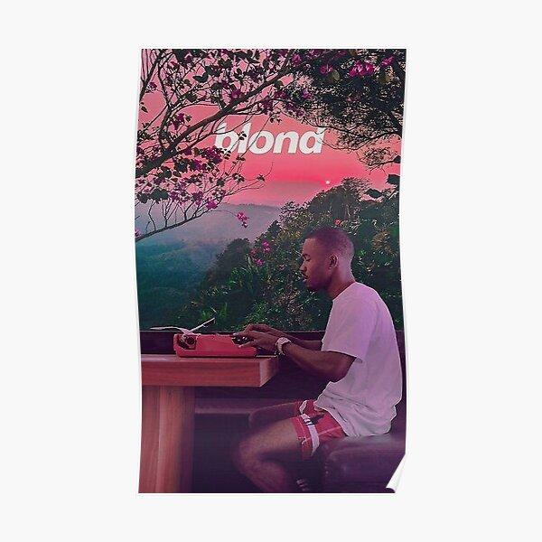 Sunset Blond Frank Ocean Poster Poster