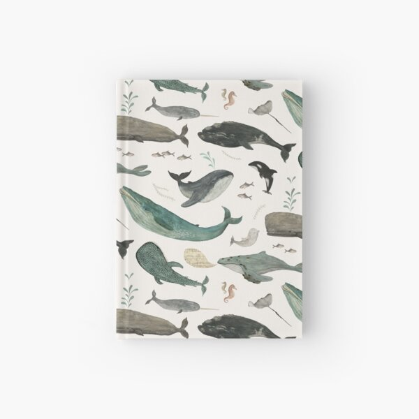 Whale Song Hardcover Journal