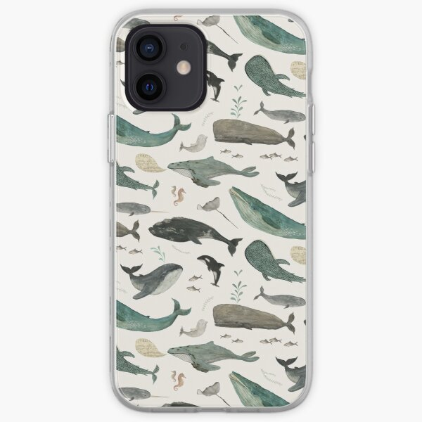 Whale Song iPhone Soft Case