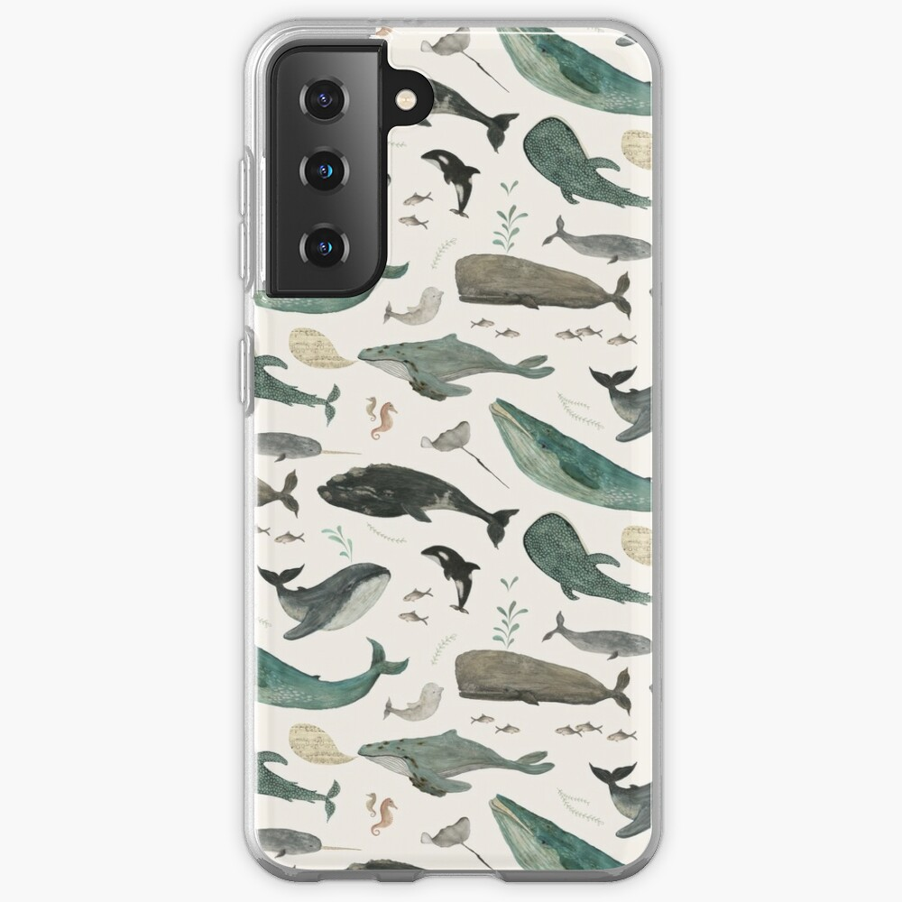 Whale Song Case & Skin for Samsung Galaxy
