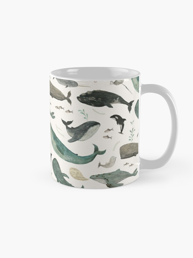 Alternate view of Whale Song Mug