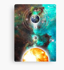 spherical trinity Canvas Print