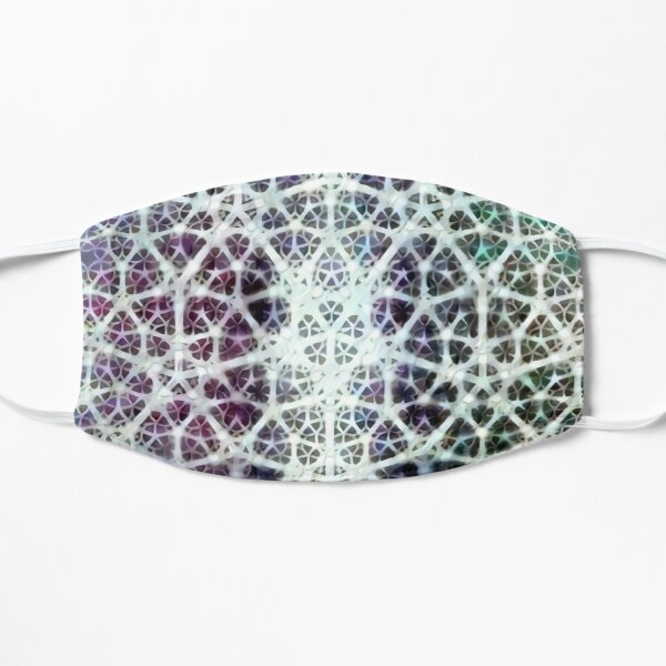 """Fractal Heart"" Algorithmically Generated Fractal Design Mask"
