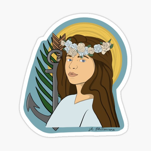 St. Philomena Sticker