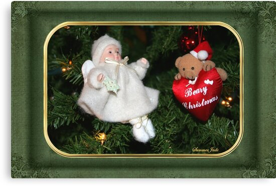Beary Christmas ~ Tree Decorations by SummerJade
