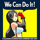 We Can Do it Cloud! by coinbox tees