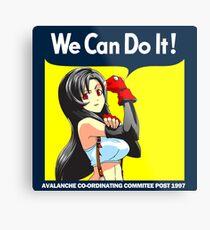 We Can Do it Cloud! Metal Print