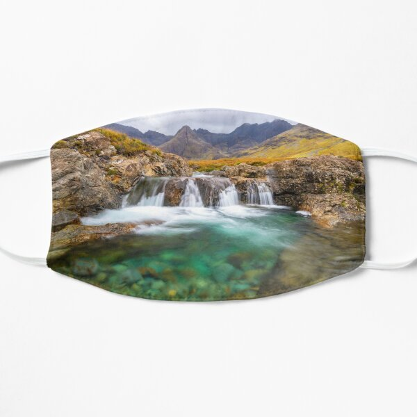 Fairy Pools Scotland Flat Mask