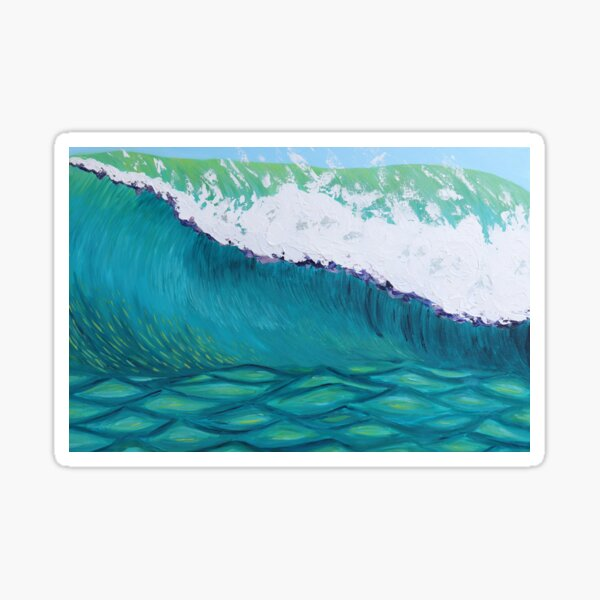 The Perfect Wave Sticker