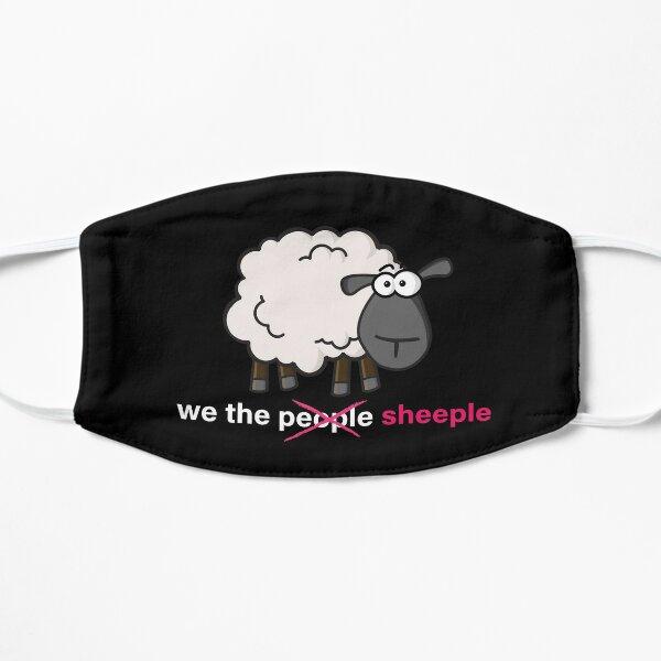 We the Sheeple Flat Mask
