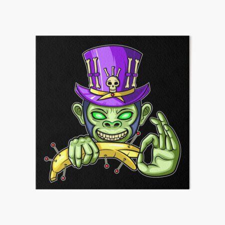 Voodoo Monkey Business Art Board Print
