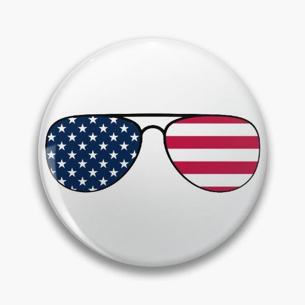 Biden Patriot Aviator Glasses Pin