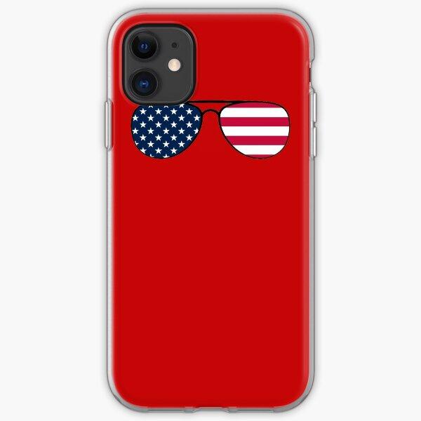 Biden Patriot Aviator Glasses iPhone Soft Case