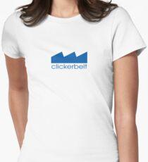 Clicker Belt Women's Fitted T-Shirt