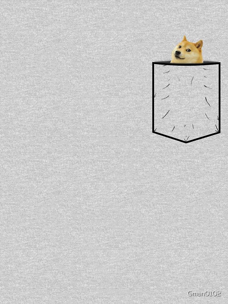 Doge Pocket | Unisex T-Shirt