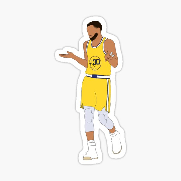Steph Curry Shrug Sticker