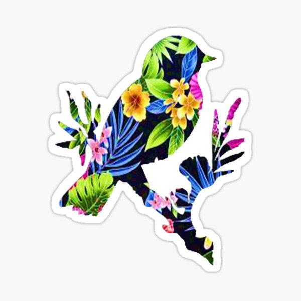 tropical aviary Sticker