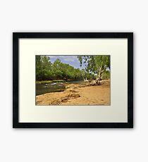 The Katherine River Reserve Framed Print
