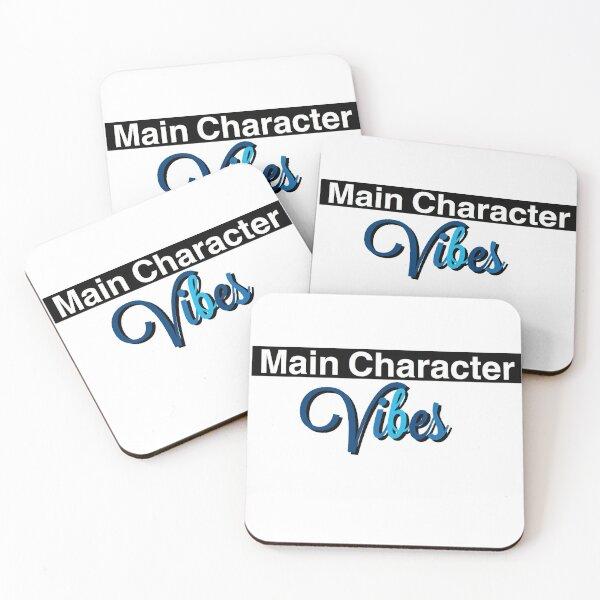 Main Character Vibes Coasters (Set of 4)