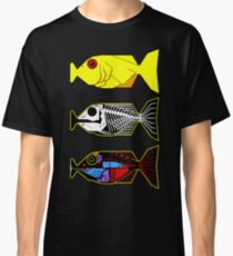 The Hitchhikers Guide to the Galaxy - 3 Babel Fish Classic T-Shirt