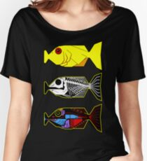 The Hitchhikers Guide to the Galaxy - 3 Babel Fish Women's Relaxed Fit T-Shirt