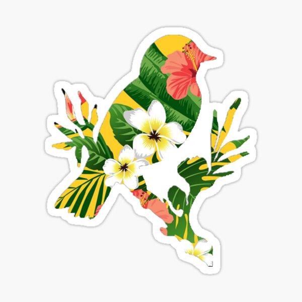 Hawaiian bird Sticker