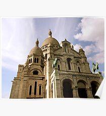 Sacre Coeur, Montmatre Poster