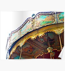 Montmatre Carousel, Montmatre Poster