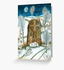 Winter Warmth Greeting Card