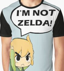 I'm Not Zelda Graphic T-Shirt