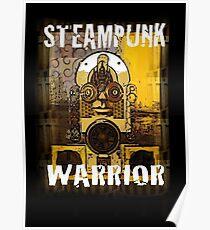 Steampunk Warrior Poster