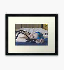 The PVC Suit Framed Print