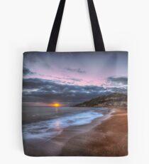 Ventnor Beach sunset Tote Bag